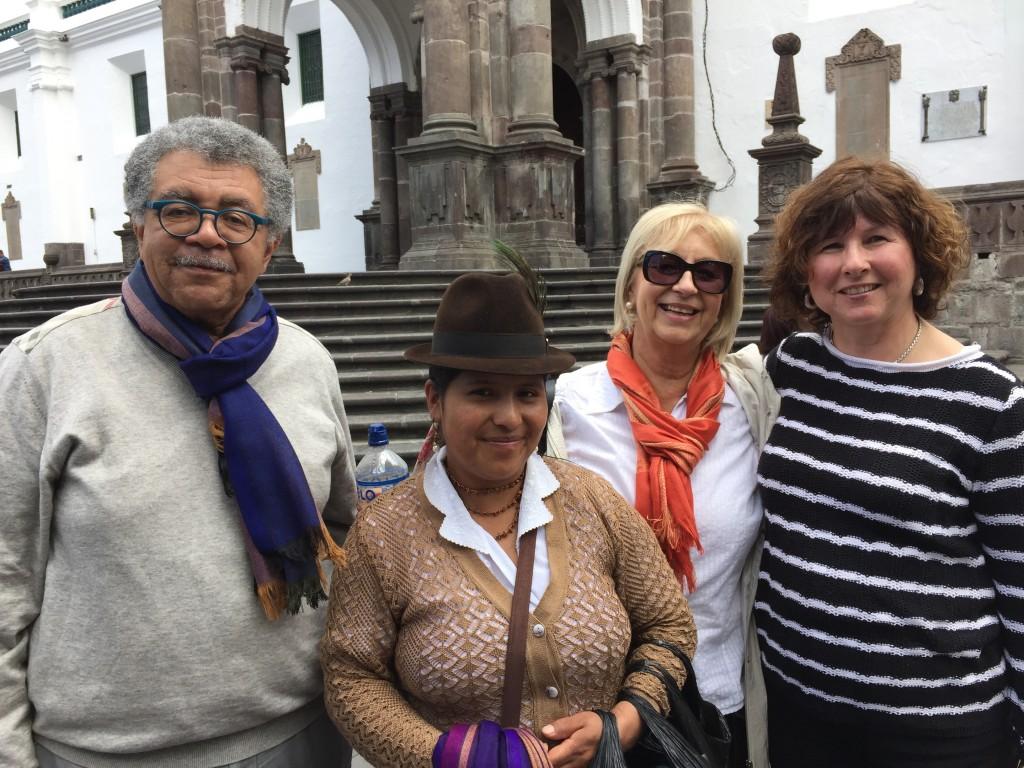 Reuniones en Ecuador.